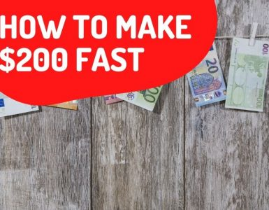 how to make $200 fast